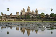 Angkor Wat. Temple in cambodia Stock Photography