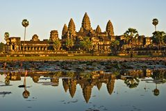 Angkor Wat. Royalty Free Stock Images