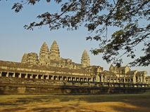 Angkor Wat. Sunrise at Angkor Wat, Cambodia Stock Photography