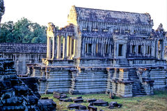 Angkor Wat. Courtyard and temple within interior of Angkor Wat- Siem Reap, Cambodia Royalty Free Stock Photography