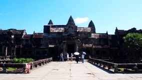 Angkor Wat Royalty-vrije Stock Fotografie