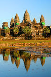 Angkor Wat. Temple near Siem Reap in Cambodia stock images