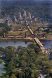 Angkor Wat Aerial Royalty Free Stock Image