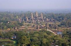 Angkor Wat Aerial View Royalty Free Stock Image