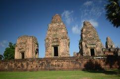 Angkor Wat alter Tempel Lizenzfreie Stockbilder