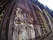 Angkor Wat, ancient lanmark, Siem Reap, Cambodia. Royalty Free Stock Photography