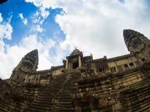 Angkor Wat, ancient lanmark, Siem Reap, Cambodia. Royalty Free Stock Photo