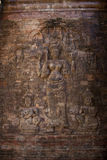 Angkor Wat Ancient Sculpture Royalty Free Stock Images