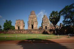 Angkor Wat ancient temple Stock Photography