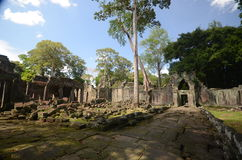 Angkor Wat ancient temple Stock Images