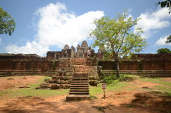 Angkor Wat ancient temple Royalty Free Stock Images