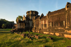 Angkor Wat - Archeological park temple. Monument of Cambodia. Architecture of old buddhist Angkor Wat - Archeological park temple. Monument of Cambodia - Siem Stock Photos