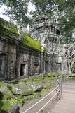 Angkor Wat architecture detail Royalty Free Stock Photos