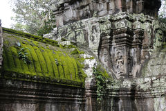 Angkor Wat architecture detail royalty free stock images