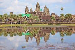 Angkor Wat in Kambodja Royalty-vrije Stock Fotografie