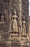 Angkor Wat - Bas Relief Royalty Free Stock Images