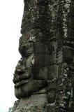 Angkor Wat - Bayon - Broken Smiling Face Stock Photo