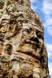 Angkor Wat - Bayon Tempel Lizenzfreie Stockfotos