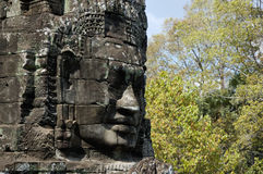 Angkor Wat - Bayon temple Stock Photography
