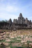 Angkor wat, Bayon temple, Cambodia. View of Bayon temple, Angkor wat, Cambodia Royalty Free Stock Image