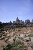 Angkor wat, Bayon temple, Cambodia. View of Bayon temple, Angkor wat, Cambodia Stock Images