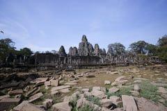 Angkor wat, Bayon temple, Cambodia. View of Bayon temple, Angkor wat, Cambodia Stock Photo