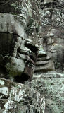 Angkor Wat Bayon Two Faces Photographie stock libre de droits