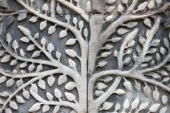 Angkor Wat Bodhi zakończenia Drzewna ulga Obrazy Stock