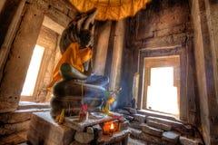 Angkor Wat Buddha Immagini Stock Libere da Diritti