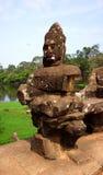 Angkor Wat Buddha Fotografie Stock Libere da Diritti