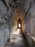 Angkor Wat Buddha decapitado Imagens de Stock