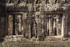 Angkor Wat Buddhist Temple royalty-vrije stock foto's