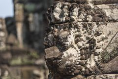 Angkor Wat Buddhist Temple stock photo