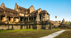 Angkor Wat, Buddhist temple complex in Cambodia Royalty Free Stock Photos