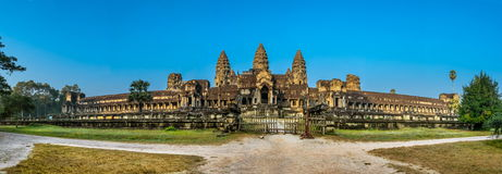Angkor Wat, Buddhist temple complex in Cambodia stock photography