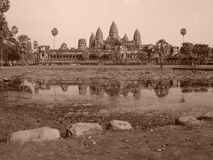 Angkor Wat, Cambodge Photographie stock