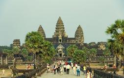 Angkor Wat, Cambodge Photos libres de droits