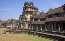 Angkor Wat in Cambodgia Royalty Free Stock Images