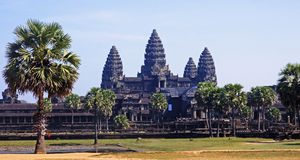 Angkor Wat in Cambodgia Royalty Free Stock Image