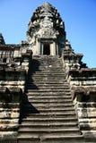 Angkor wat-Cambodia. Angkor wat tower against blue sky,Cambodia Royalty Free Stock Photos