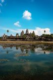 Angkor wat cambodia. Angkor Wat is one of the most beautiful and fascinating places on the planet Stock Photo