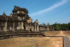 Angkor Wat in Cambodia Royalty Free Stock Photo