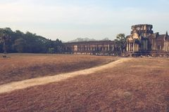 Angkor Wat in Cambodia Stock Images