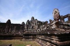 Angkor wat, Cambodia. A terrace view of Angkor wat, Cambodia Stock Photography