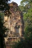 Angkor wat, Cambodia. A terrace view of Angkor wat, Cambodia Royalty Free Stock Images