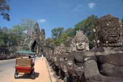 Angkor Wat of Cambodia Royalty Free Stock Photography
