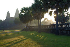 Angkor Wat of Cambodia Royalty Free Stock Images