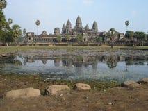 Angkor Wat, Cambodia. Angkor Temple, Siem Reap, Cambodia Royalty Free Stock Photos