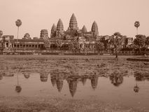Angkor Wat, Cambodia. Angkor Temple, Siam Reap, Cambodia Royalty Free Stock Images