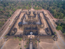 Angkor Wat (Cambodia) Stock Photography